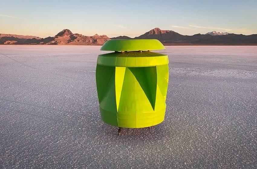 Ecco Powerpod: la turbina eolica portatile