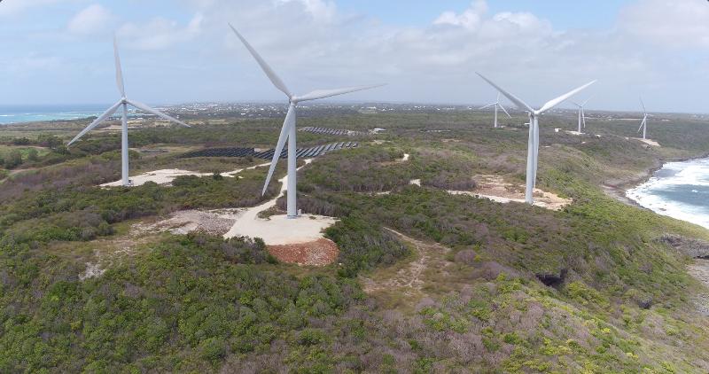 L'eolico italiano a prova di tifone: Leitwind conquista i Caraibi