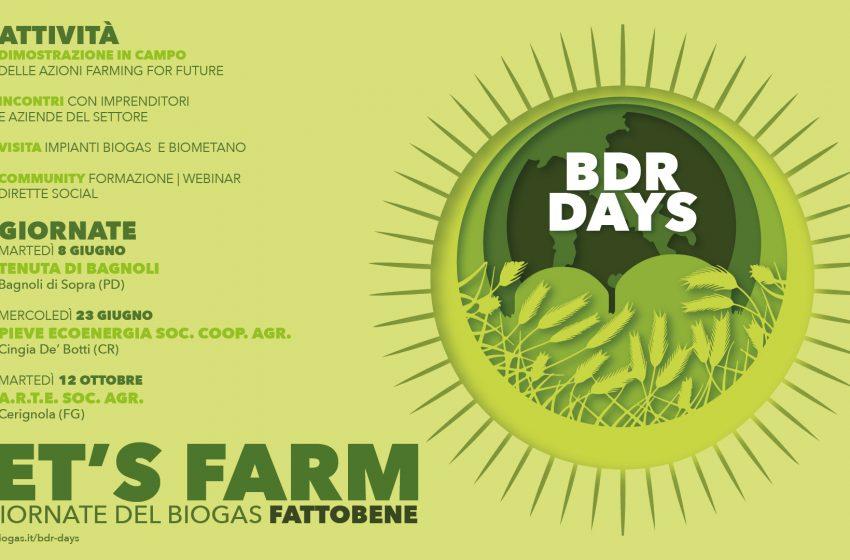 BDR days: al via il tour del Biogasfattobene®