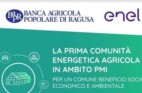 Comunità energetiche: a Ragusa la prima agricola