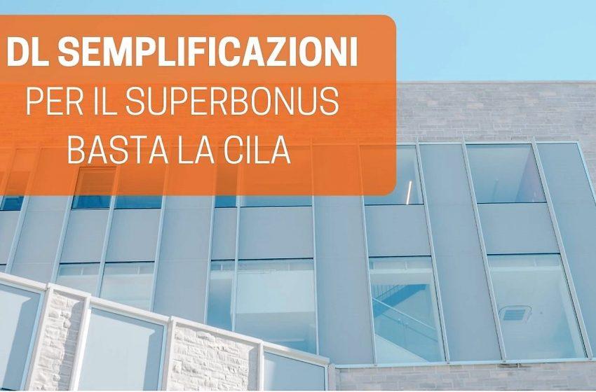 Dl Semplificazioni, Nardi: ora superbonus più facile e con meno burocrazia