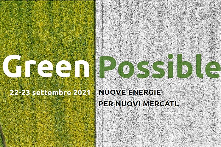 Biogas Italy Green Possible 2021: 22 e 23 settembre a Roma