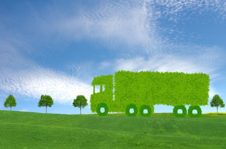 ecological truck concept, ecological transport concept