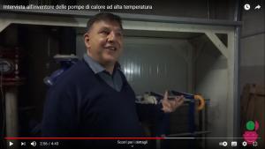 Intervista all'inventore delle pompe di calore ad alta temperatura